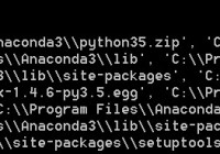 Python错误信息大全