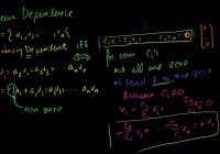 线性代数(一)