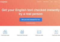Fluent.express让老外更正你的英文