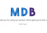 又一个逆天的前端项目: MDB